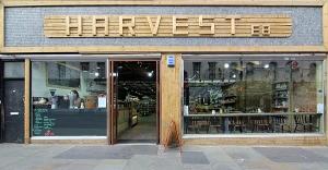 Shop front, Harvest e8