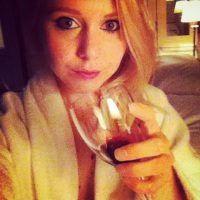 Robe and red wine