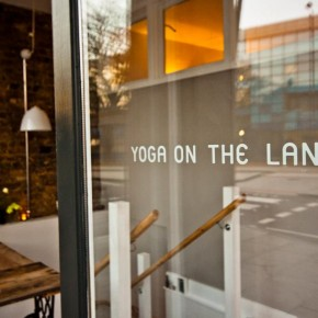 Yoga on the Lane shop front