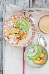 Porridge with avocado?!