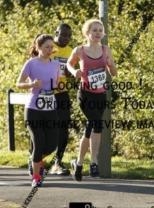 Me and Becks running