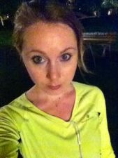 Me after a run in the rain