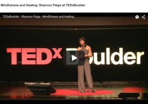 TEDx Mindfulness and Healing