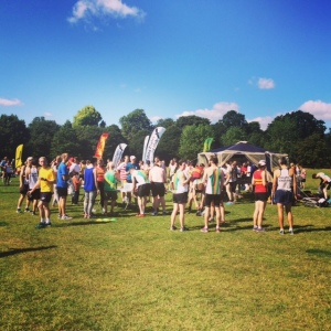 Picnic after Summer League 10k, Regents Park