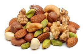 Go nuts! mixed nuts