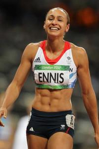 Who doesn't have a crush on Jess Ennis, right?