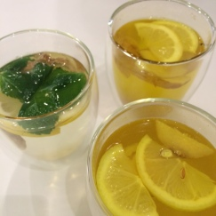 Herbal infusions at Filmore and Union to start our detox weekend