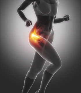 Hip pain female runner