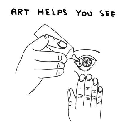 the arts can help you see