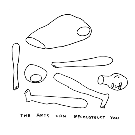 the arts can reconstruct you