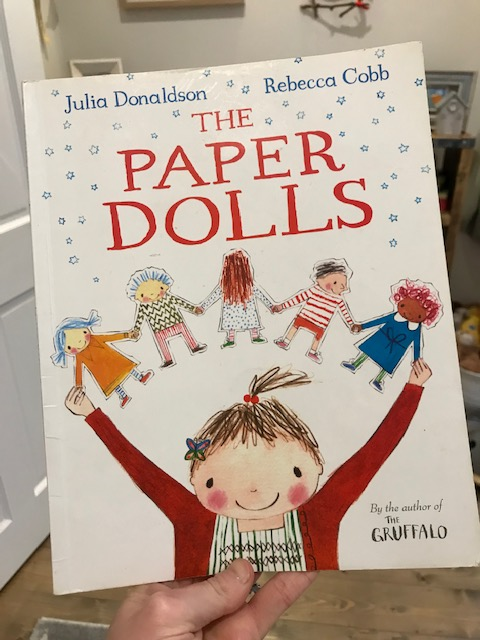 Julia Donaldson and Rachel Cobb, 'The Paper Dolls'