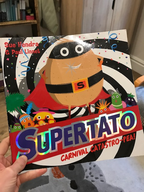 Sue Hendra and Paul Linnet, 'Supertato: Carnival Catastro-Pea!'