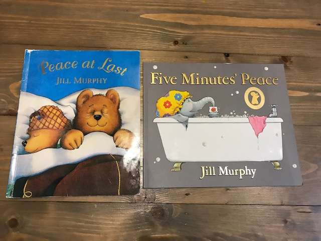 Jill Murphy 'Peace at Last' and 'Five Minutes Peace'