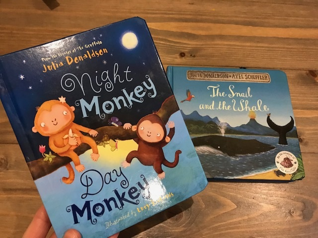 'Night Monkey, Day Monkey' and 'The Snail and the Whale'
