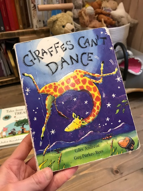 Giles Andreae and Guy Parker-Rees, 'Giraffes Can't Dance'
