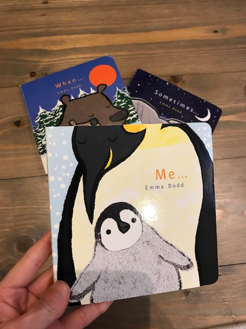 Emma Dodd collection, 'Me', 'When' and 'Sometimes'