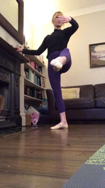 Ballet Fusion class